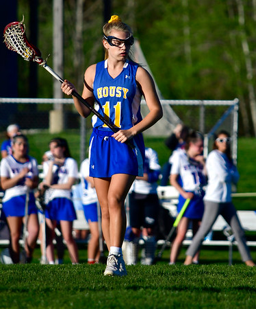 5/8/2019 Mike Orazzi | Staff Housatonic Regional's Abigail Dodge (11) during Wednesday's girls lacrosse with St. Paul in Bristol.