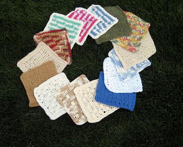 Crochet Works-Dishcloths & Scrubbies