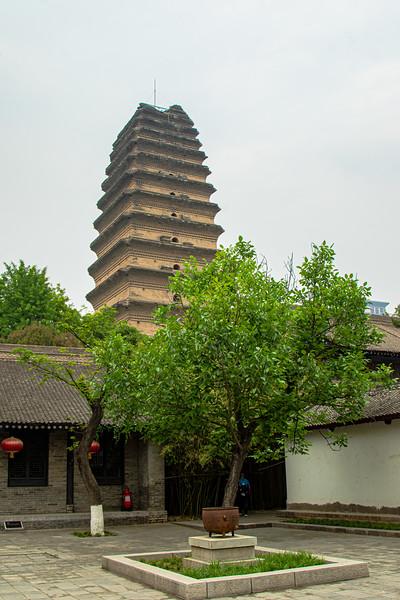 The Wild Goose Pagoda, Xi'an