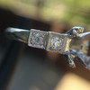 Antique 5-stone Setting, Platinum 1
