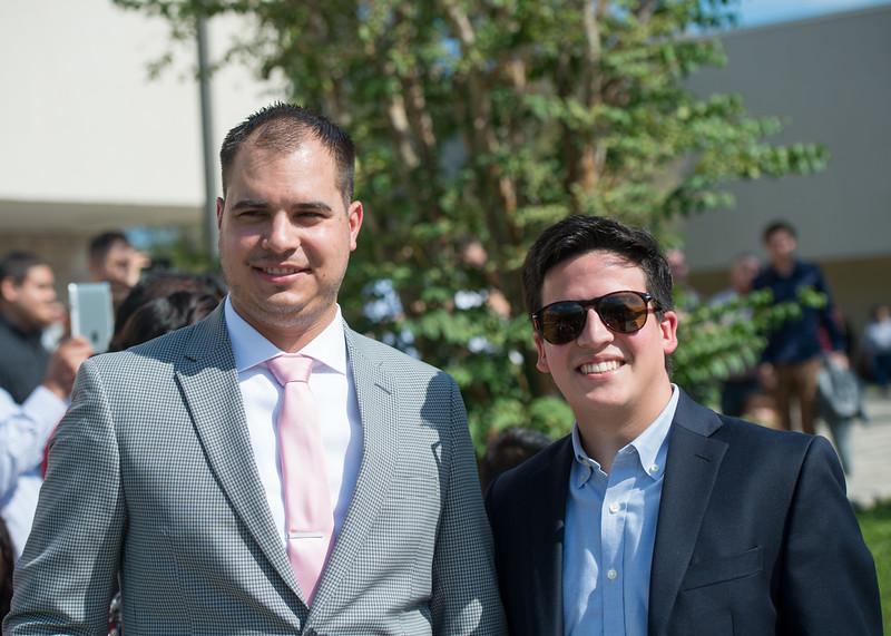 Kenneth Aldrich (left), Paul Martinez
