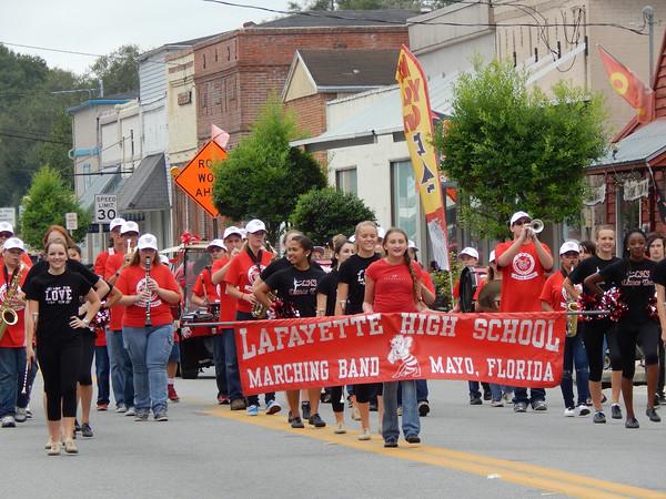 2014 LHS Homecoming Parade