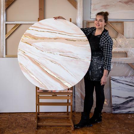 Artist Jennifer Ament