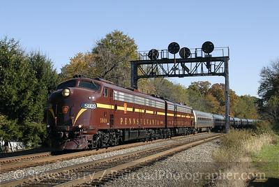 Pennsylvania Railroad E8s
