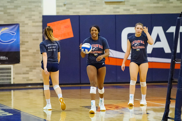 2019 Catawba Volleyball Senior Night
