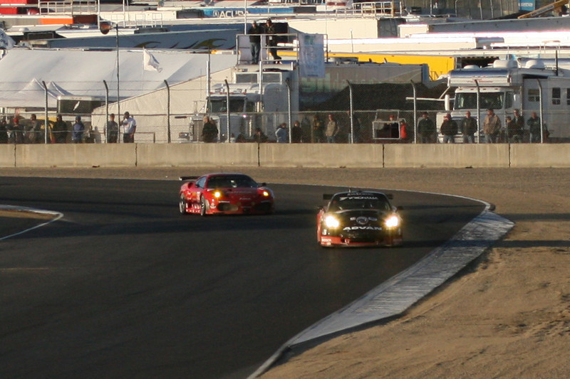 American Lemans Racing at Laguna Seca