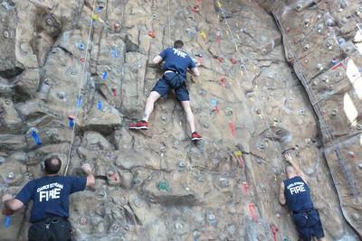 Rock Climbing at Lifetime Fitness January 31, 2012