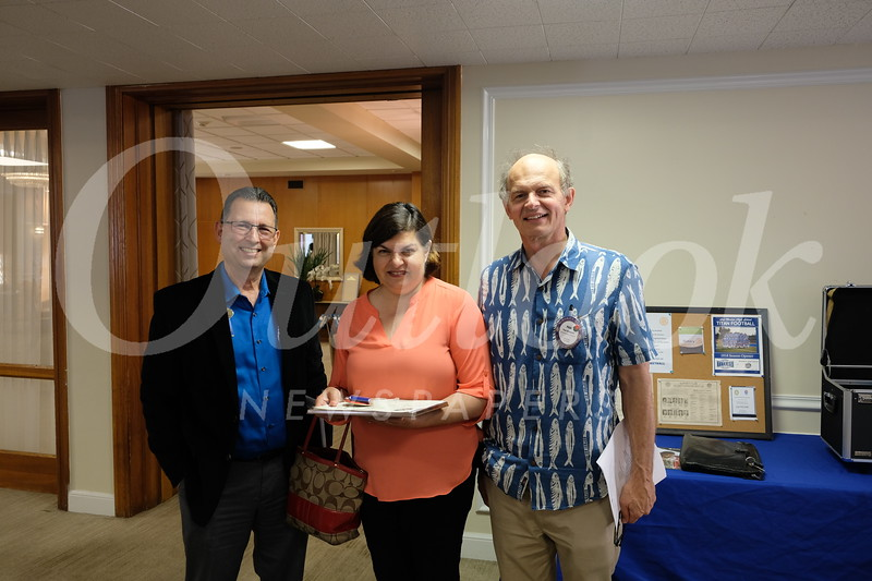 Steve Sciurba, Gilda Moshir and Paul Brassard