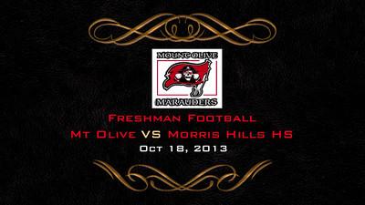 MO VS Morris Hills Football 10/18/13