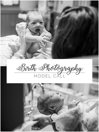 Model Call: Birth Photography