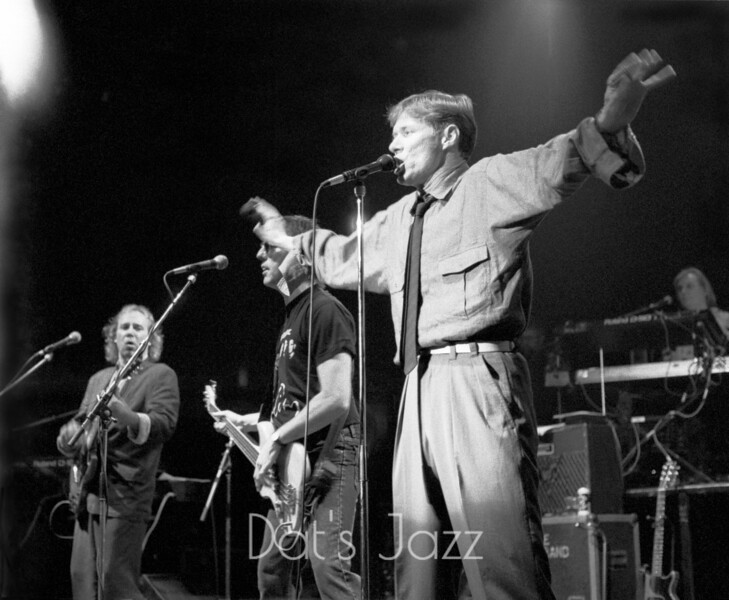PAUL JONES with DAVE KELLY & GARY FLETCHER