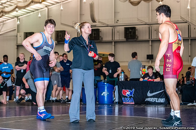 92kg - Haas def Shumate - 2019 Cadet Freestyle WTTs