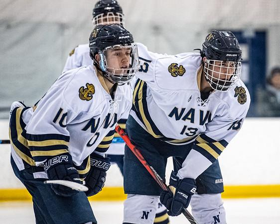 NAVY Men's Ice Hockey vs West Chester ECHA Playoffs (03/07/2020)