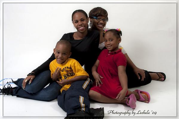 Brown/Robinson Family Photo Shoot