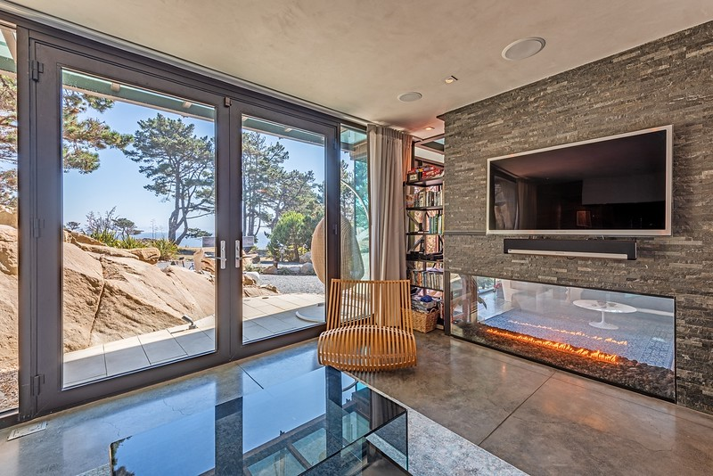 Family Room with Ocean Views