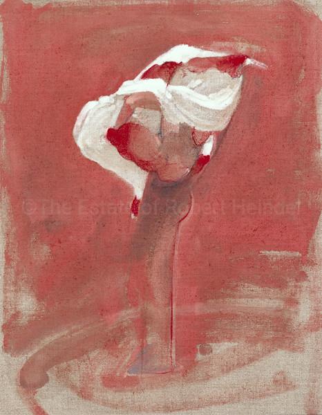 Colour Study for White Skirt II (1991)