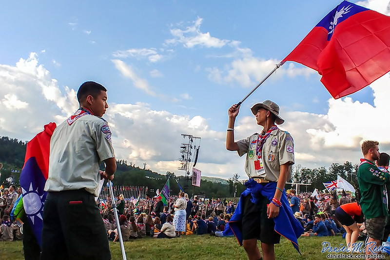 Welcome Our Taiwanese Scouts to the World Jamboree