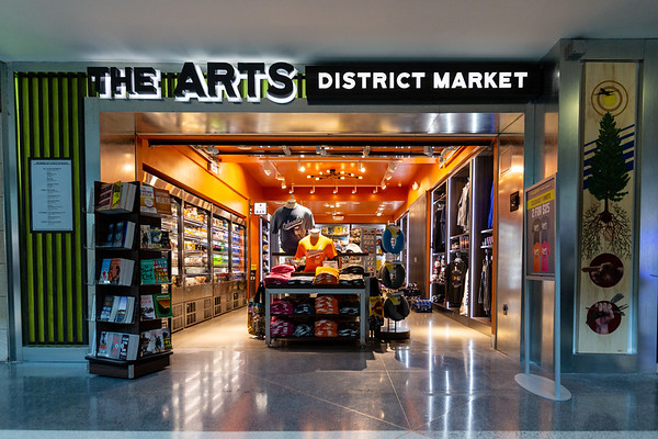 Arts District Market, C Gates, near Gate 32