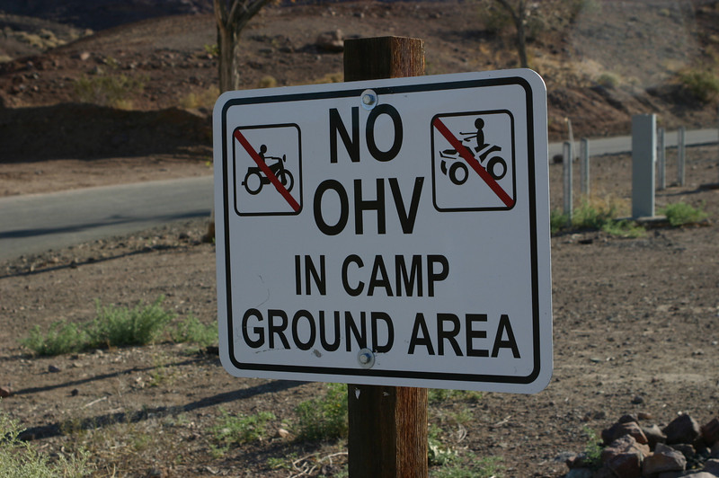 We never did figure out what OHV is; we're obviously not the OHV type. Off-something vehicles?