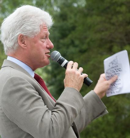 20080423 Bill Clinton's Visit to Hillsborough, NC
