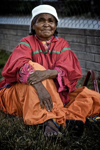Indigenous Tarahumara (Rarámuri) Woman - Samachique, Chihuahua, Mexico
