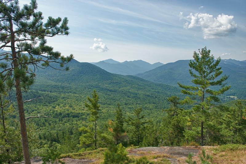 View of Baxter Mountain, Adirondacks.