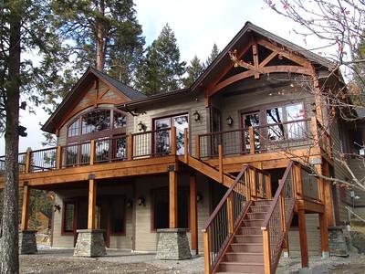 Keith and Ellen Weeks Flathead Lake Home