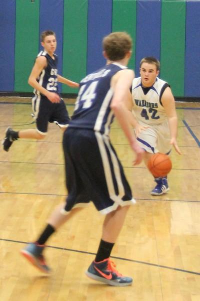 JV Basketball vs Longview Christian 1.16.15