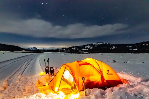 Night #2:  Teton National Wilderness Area