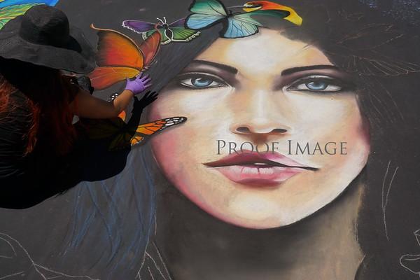 Italian Street Painting San Rafael