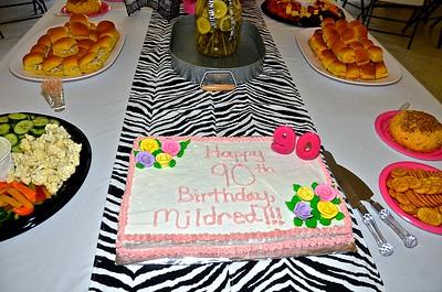 Mildred Walls 90th Birthday 5-16-15