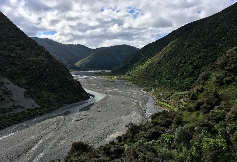 Orongorongo River Valley
