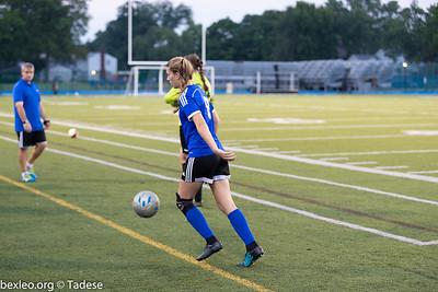 Varsity Soccer Girls vs Grandview Heights