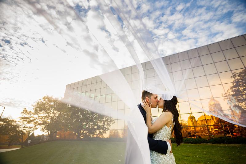 ELINA & JUSTIN WEDDING, DES MOINES IA