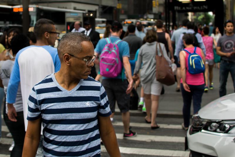 Midtown Manhattan street