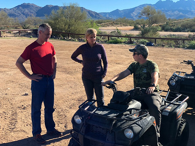 10/24/18.    AM  ATV Tour   Colton/Dawn