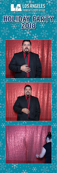 Los Angeles Federal Credit Union Holiday Party 2018
