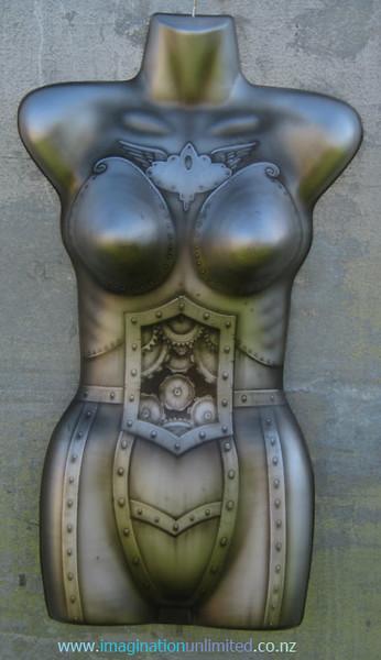 Metal looking airbrushed mannequin.jpg