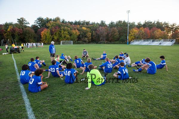 2020-10-14 WHS Boys Soccer vs Timberlane