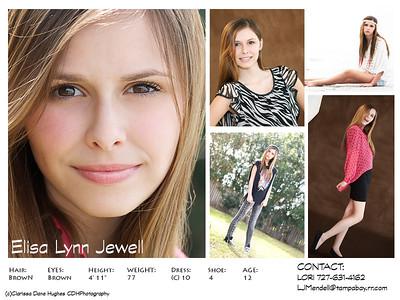 ELISA MODELING & COMP CARDS