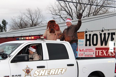 Howe Chamber Christmas Parade, 12/10/2016