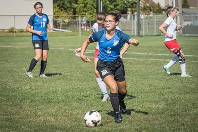 DHS Girls Soccer 09-16-2017