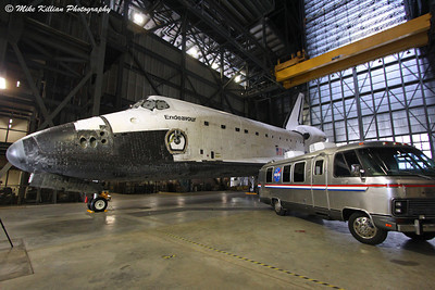 Space Shuttle Endeavour Ready For California