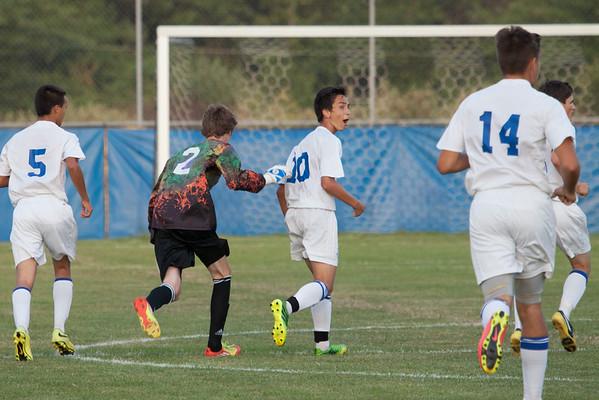 DHS Boys Soccer 08-28-2014