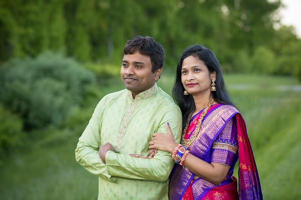 Ramya Giri Family