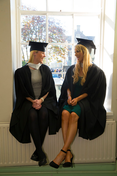 01/11/2018. Waterford Institute of Technology (WIT) Conferring Ceremonies 2018. Pictured is Joanne O'Grady Ballymccarby, Waterford and Lisa Walsh Limerick. Picture: Patrick Browne