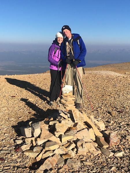 Horseshoe Mtn summit
