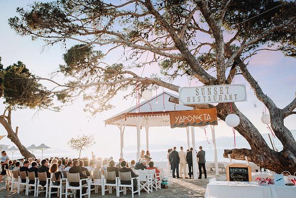 A + A | Hochzeit auf der Insel Hydra, Griechenland