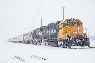 Special train 2017 February 18th