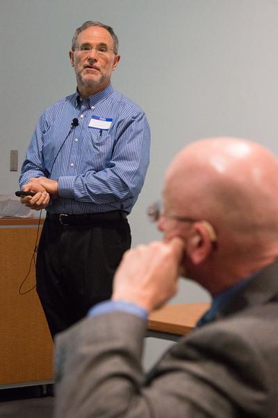 Chuck Bennett (JHU) -- NASA/GSFC Career Celebration for John Mather (40 years), Floyd Stecker (50 years), and Peter Serlemitsos (55 years), Greenbelt, Nov 17, 2016.